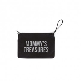 MOMMY TREASURES clutch torbica - ČRNA