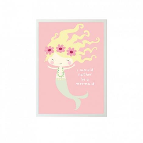 Poster - Morska deklica