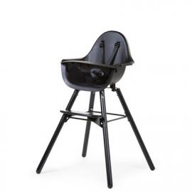 Otroški stol Childhome Evolu 2 Black/Black