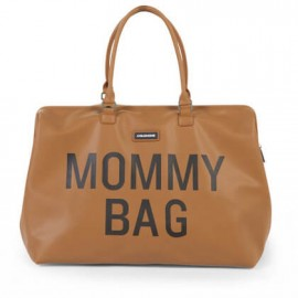 Torba Mommy Bag Big Leatherlook Brown