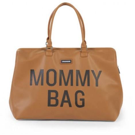 Torba Mommy Bag Big Leatherlook Brown