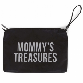 Torbica Mommys Treasures Black-Silver