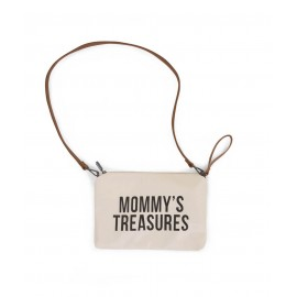 Torbica Mommys Treasures White-Black