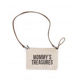 Torbica Mommys Treasures White-Black
