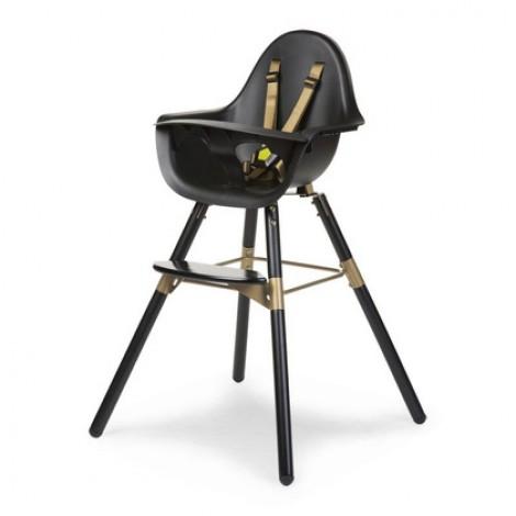 Otroški stol Childhome Evolu 2 Black/Gold