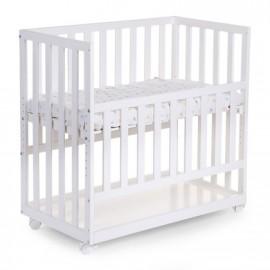 Otroška postelja na koleščkih Beech white 50 x 90