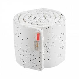 Done by Deer obroba za otroško posteljico - Dreamy dots, white