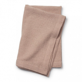 Tanka pletena odejica - Powder Pink