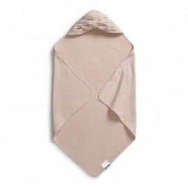 Brisača s kapuco - Powder Pink Bow