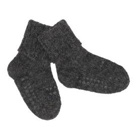 ANTISLIP nogavičke iz volne - Dark Grey Melange