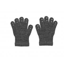 Rokavice Go Baby Go ( za lažji oprijem) iz volne - Dark Grey Melange