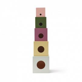 Lesene kocke EDVIN (stolp)
