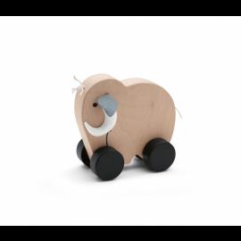 Mini mamut na koleščkih