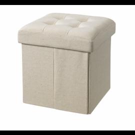 Sedež in škatla za shranjevanje - Beige