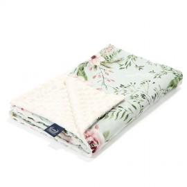 Dvostranska odeja (80x100cm) - wild blossom/ecru
