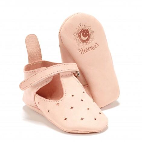 Prvi čeveljčki Moonie`s - candy pink