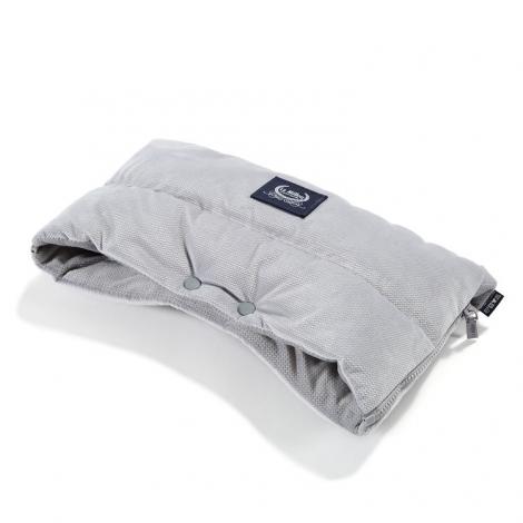 La Millou muf za voziček (sendvič) - velvet dark grey