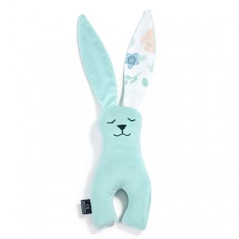 Plišasti zajček - velvet audrey mint/yoga candy