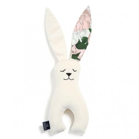 Plišasti zajček - velvet rafaello/lady peony
