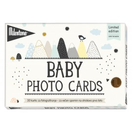 MILESTONE kartice za fotografiranje dojenčka - Over the moon (Limited Ed.)