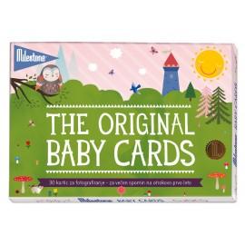 MILESTONE kartice za fotografiranje dojenčka - Milestone Baby Cards (SLO)