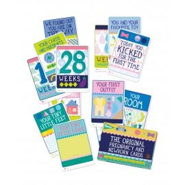 MILESTONE kartice za fotografiranje dojenčka - Milestone Baby Cards (ANG)