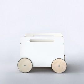 Lesen voziček - zaboj za igrače