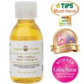 Organsko masažno olje z eteričnimi olji
