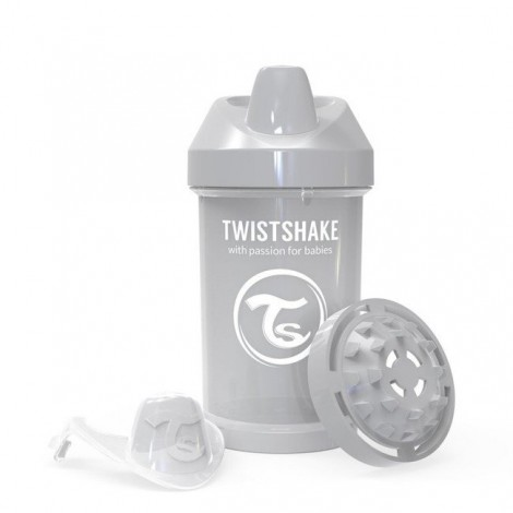 Twistshake® Crawler Cup Pastel Grey 300ml (8+m)
