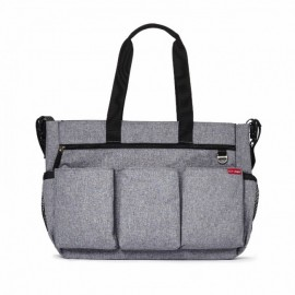 Torba za dvojčke - Duo Double Signature Heather Grey