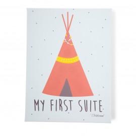 Oljna slika My first suite