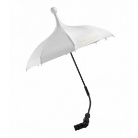 Univerzalni dežnik za voziček - Vanilla White