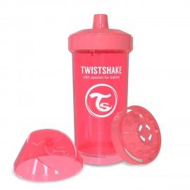 Twistshake® Kid Cup Neon Coral 360ml (12+m)