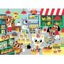 Petit Monkey sestavljanka - In the Supermarket ( 4years+)