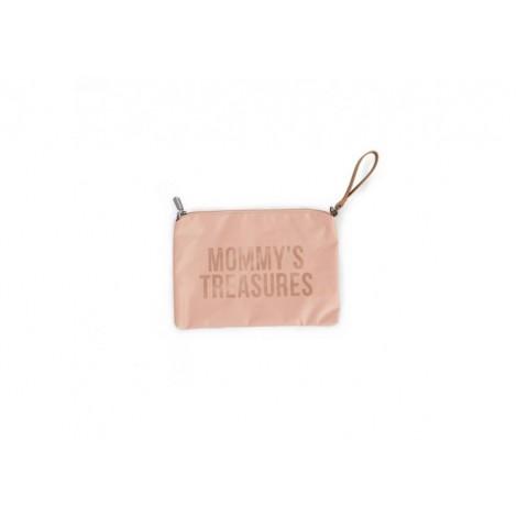 MOMMY TREASURES clutch torbica - POWDER PINK