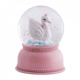 Snežna krogla - labod