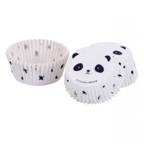 Papirčki za muffine in kolačke - panda