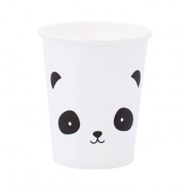 Papirnati kozarčki - panda