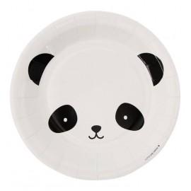 Papirnati krožniki - panda
