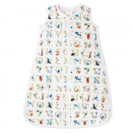 Otroška poletna spalna vreča - abeceda