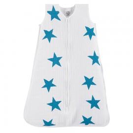 Otroška poletna spalna vreča - modre zvezde