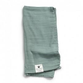 Mehka Muslin odejica - Mineral Green