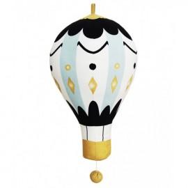 Glasbeni vrtiljak za posteljico Moon Balloon - velik