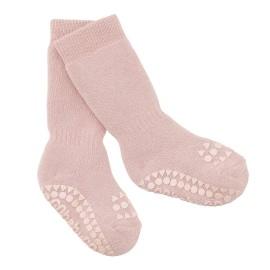 ANTISLIP nogavičke iz bombaža - Dusty Rose