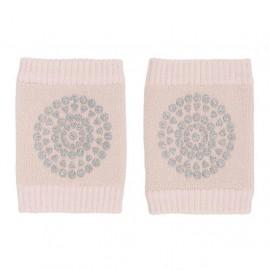 Kolenčniki za plazenje - Soft Pink Glitter