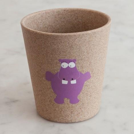 Lonček za ščetke - hippo
