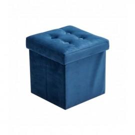 Sedež in škatla za shranjevanje - Velvet blue
