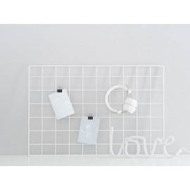 Memo spominska tabla - Bel pravokotnik
