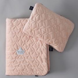 Komplet posteljnine (80 x 100 cm) - velvet powder pink