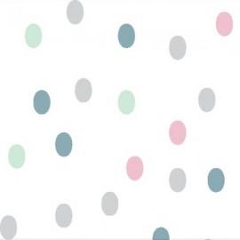 Rjuha z elastiko (60 x 120 cm)  -story dots
